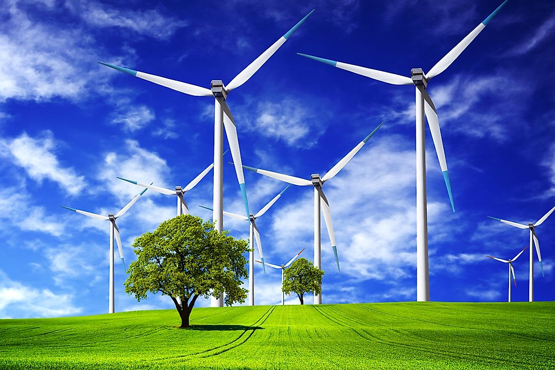 Improvements in wind energy could help replace fossil fuels, which are heavily polluting.