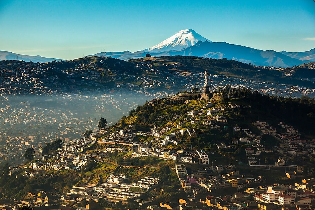Quito is the capital city of the Republic of Ecuador.