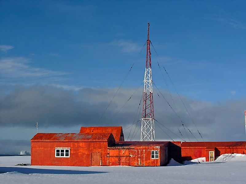 A research station operated by the country of Chile along the Antarctic coast.