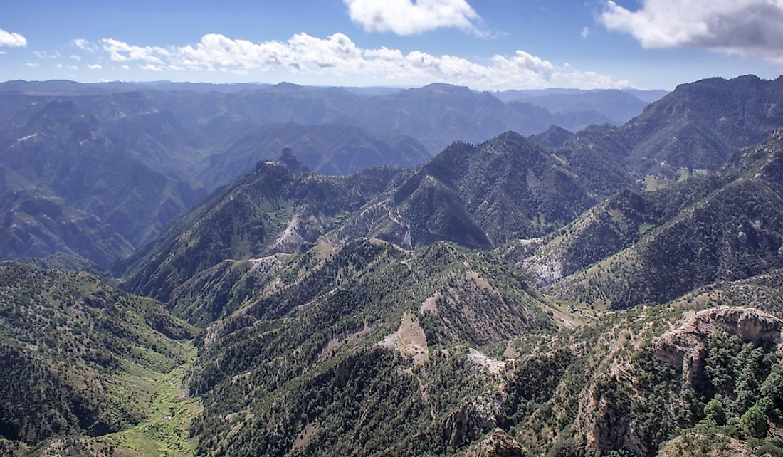 Sierra Madre Occidental's Copper Canyon in Chihuahua, Mexico.