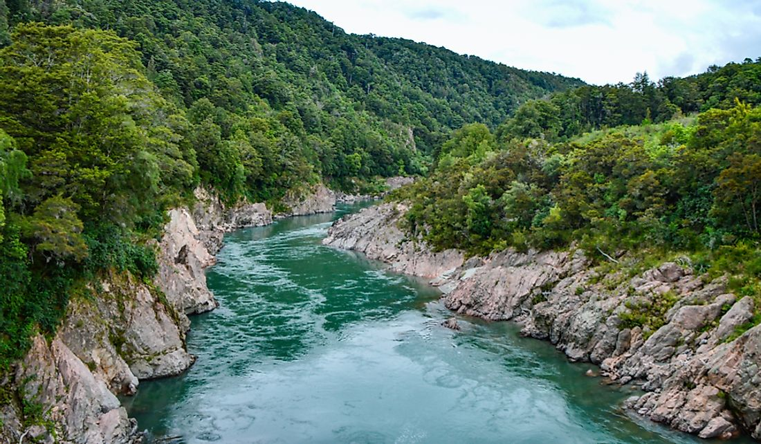 The Waikato River is spiritually significant to the local Māori population.