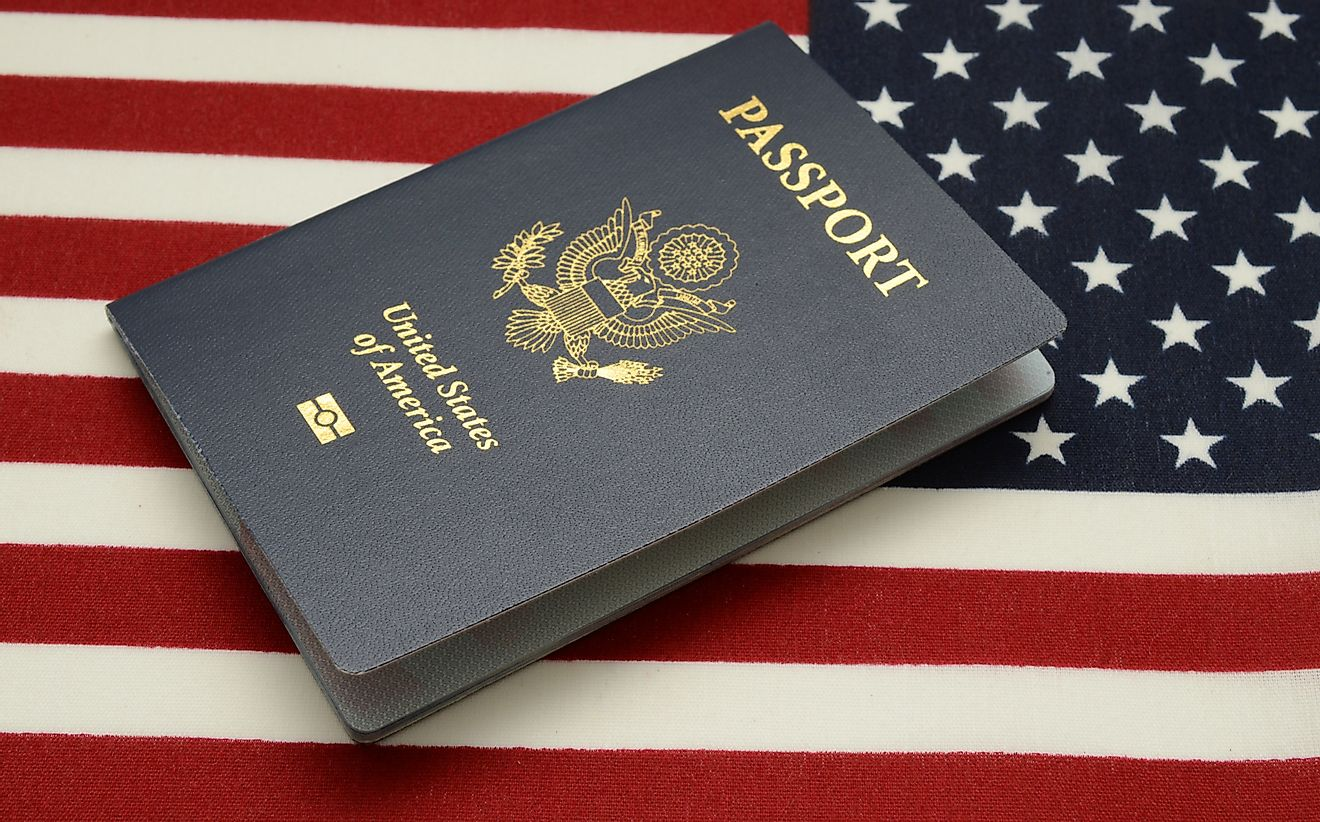 An American passport.
