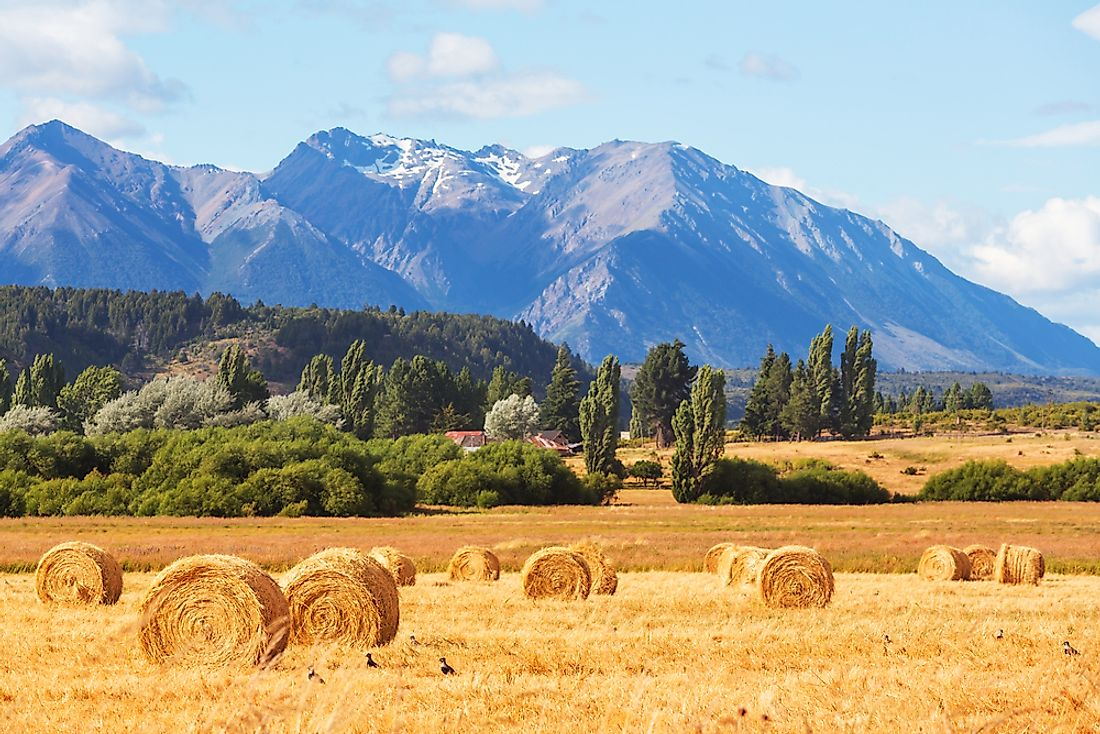 Argentina has vast agricultural resources.