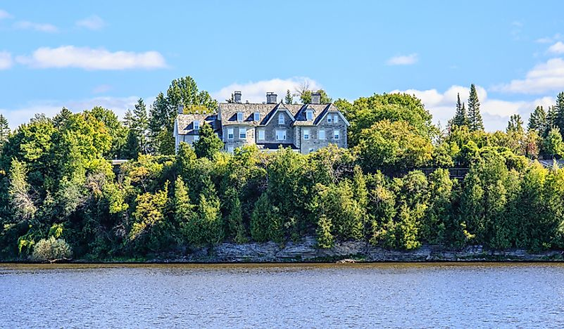 24 Sussex Drive.