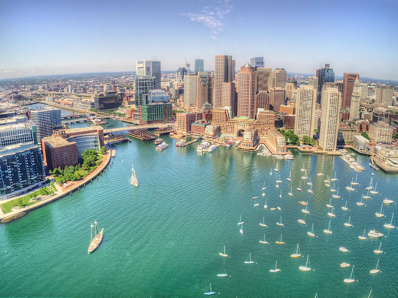 Boston is a popular tourist destination for travelers.