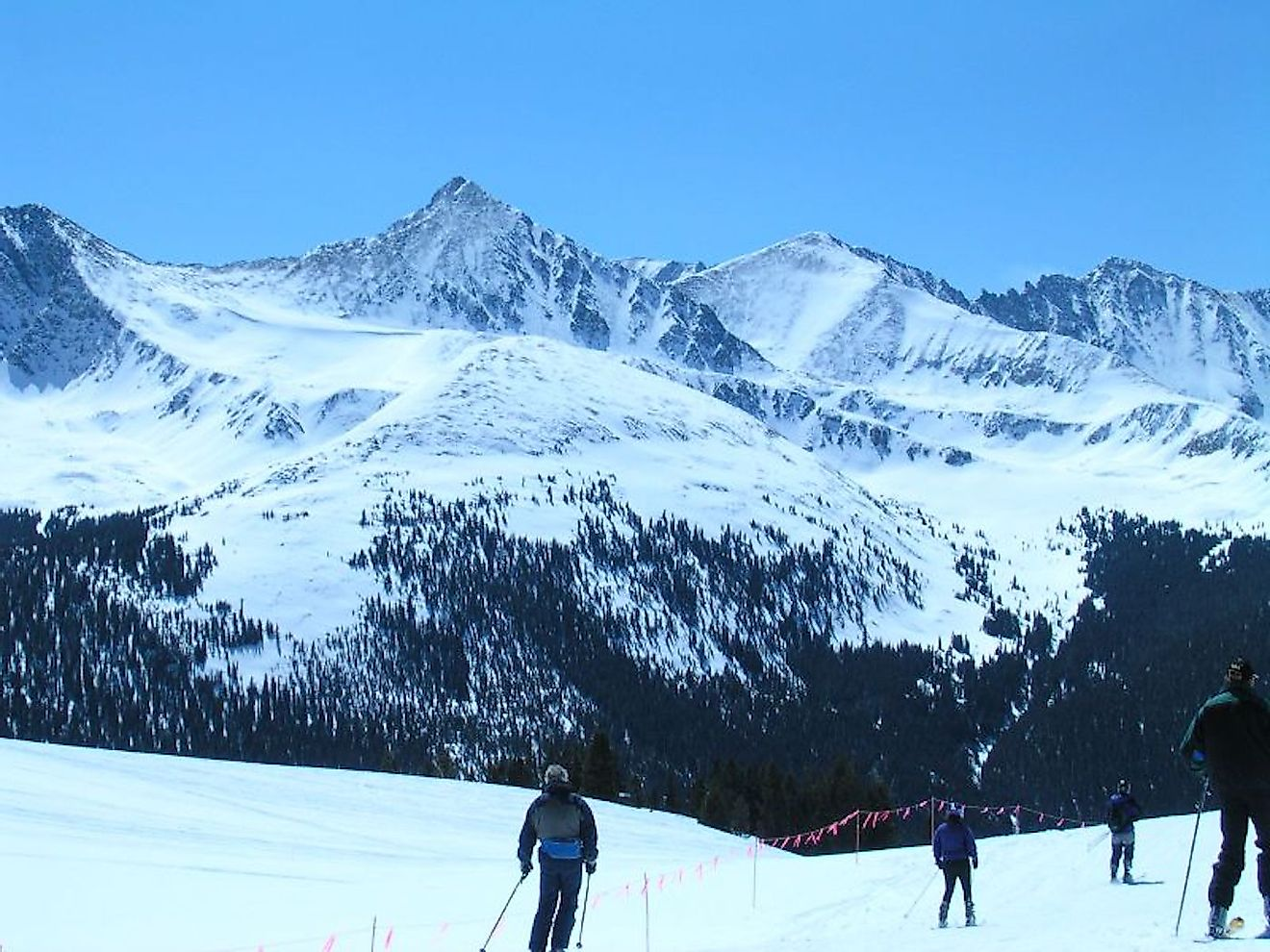 Skiing on the Copper Mountain. Image credit: Luis Toro/Flickr.com