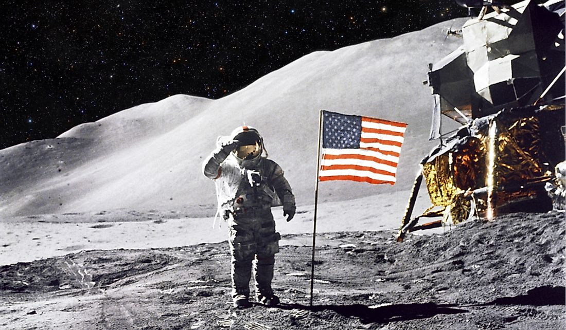 The US was the first nation to land a man on the moon.