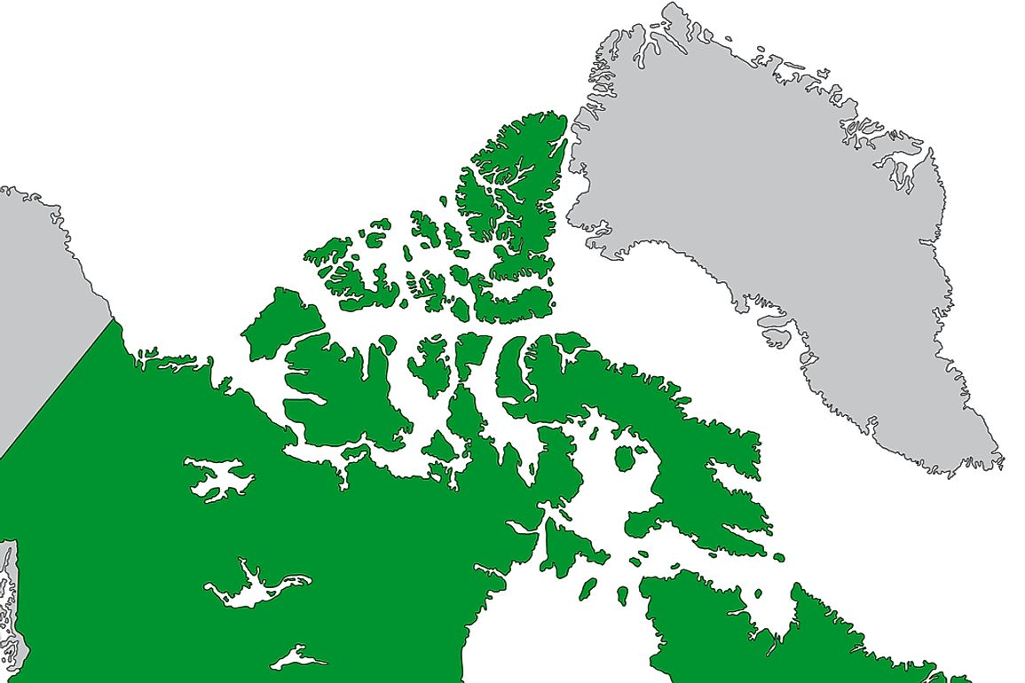 The Queen Elizabeth Islands are the northernmost islands in Canada.