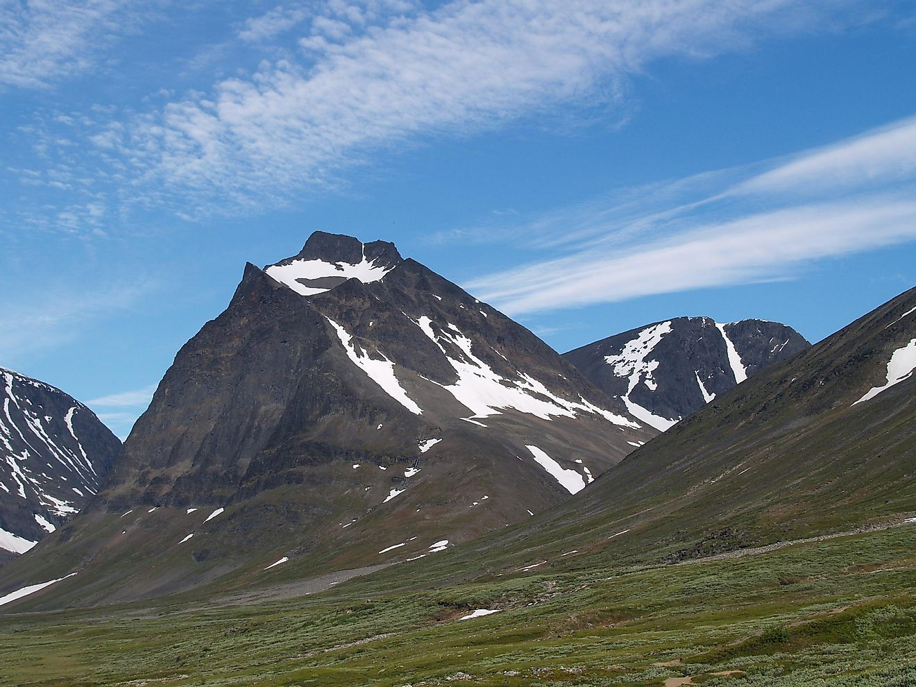 Kebnekaise is the tallest mountain found in Sweden.