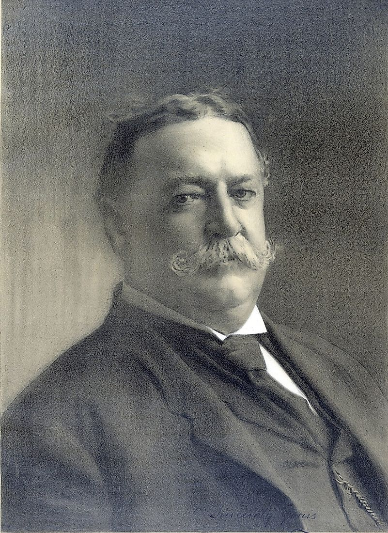 Taft held a number of important titles besides that of President, from Chief Justice of the Supreme Court to territorial Governor to Secretary of War.