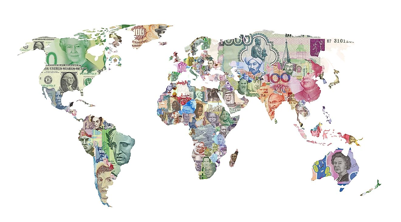 Currencies of the world
