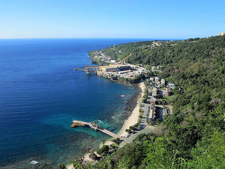 Christmas Island is an external territory of Australia with a population of 2,075 people.