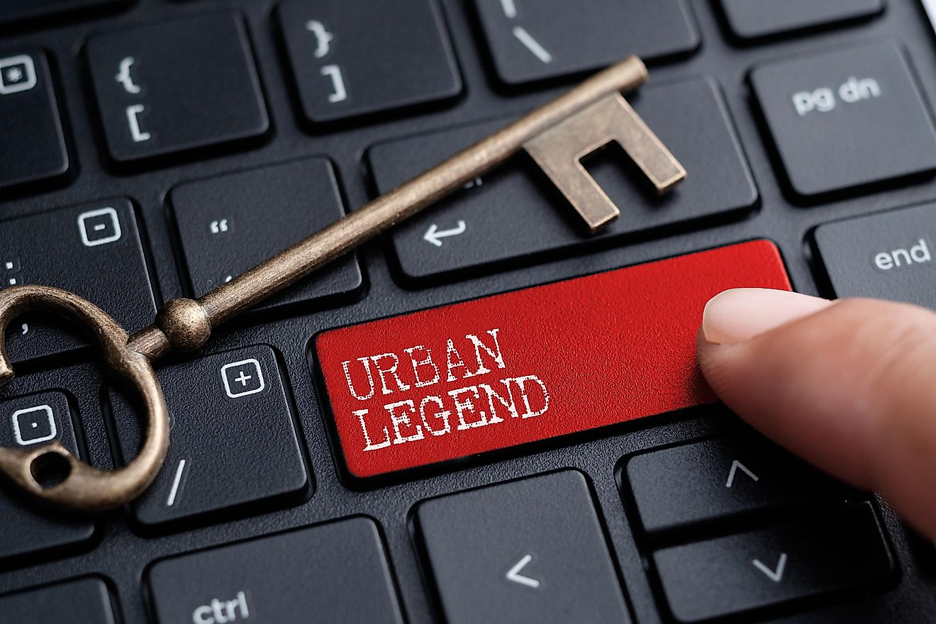 Although many urban legends are not based on anything real, these legends are tied to real events.