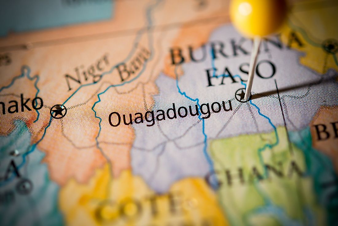 Ouagadougou is the capital and largest city in Burkina Faso.