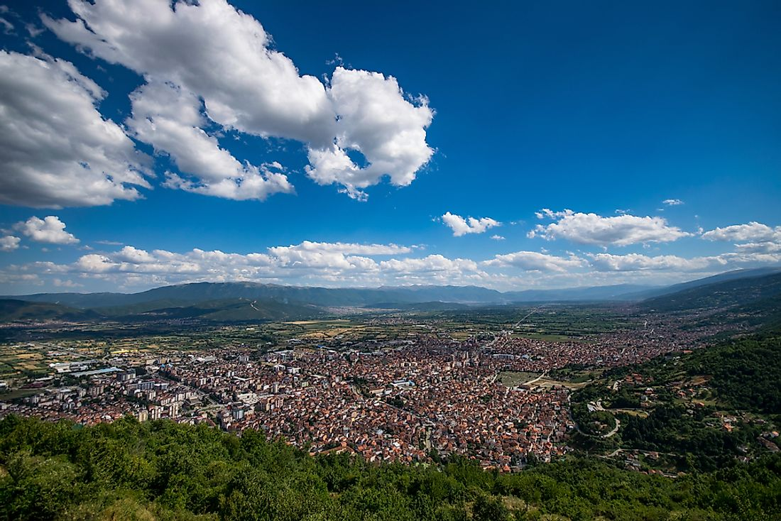 Tetovo, FYR Macedonia has the worst air pollution in Europe according to the World Health Organization.