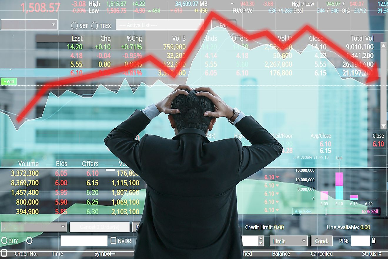 Stock market crashes can have highly detrimental effects on the economy.