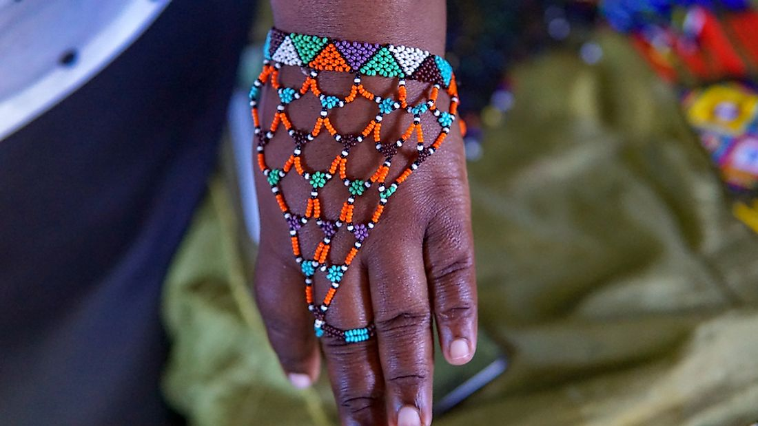 Traditional Zulu jewelry.