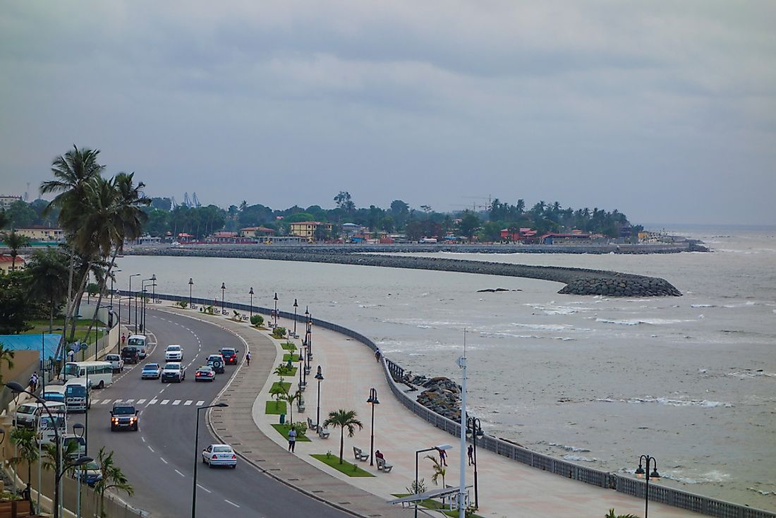 Bata, the capital of Equatorial Guinea. Editorial credit: alarico / Shutterstock.com.