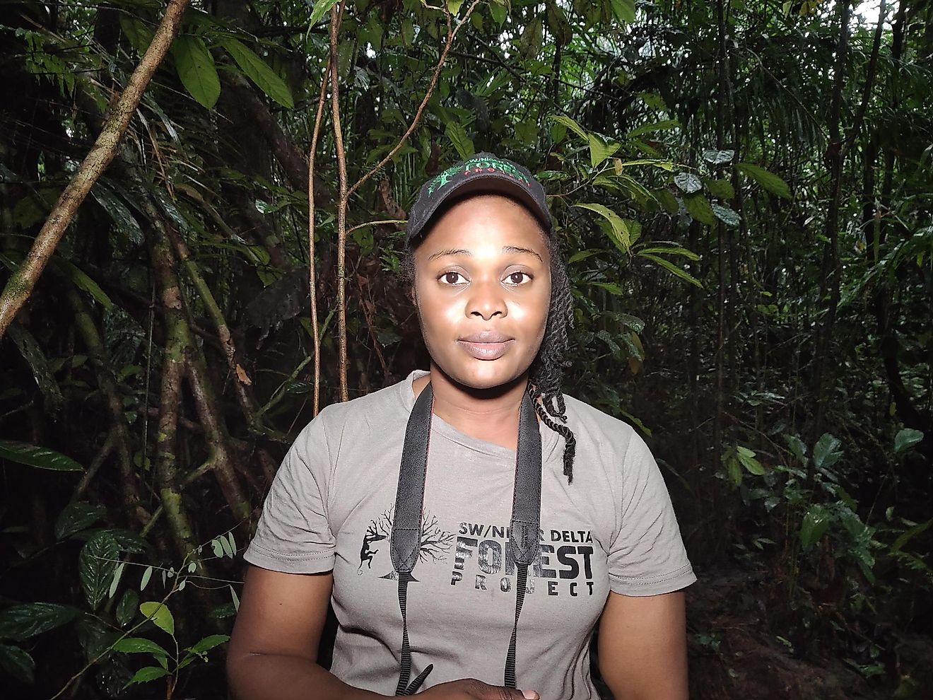 Rachel Ashegbofe Ikemeh, Project Director at SW/Niger Delta Forest Project