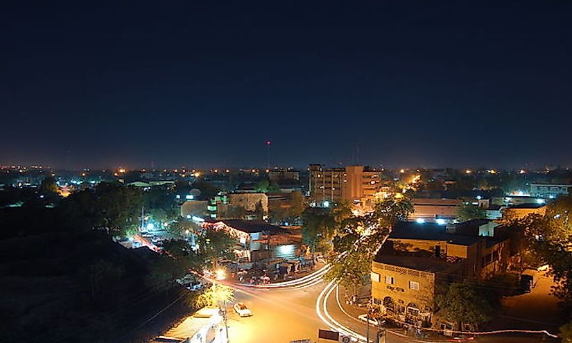 Niamey is the largest city in Niger with a population of 1,302,910 inhabitants.