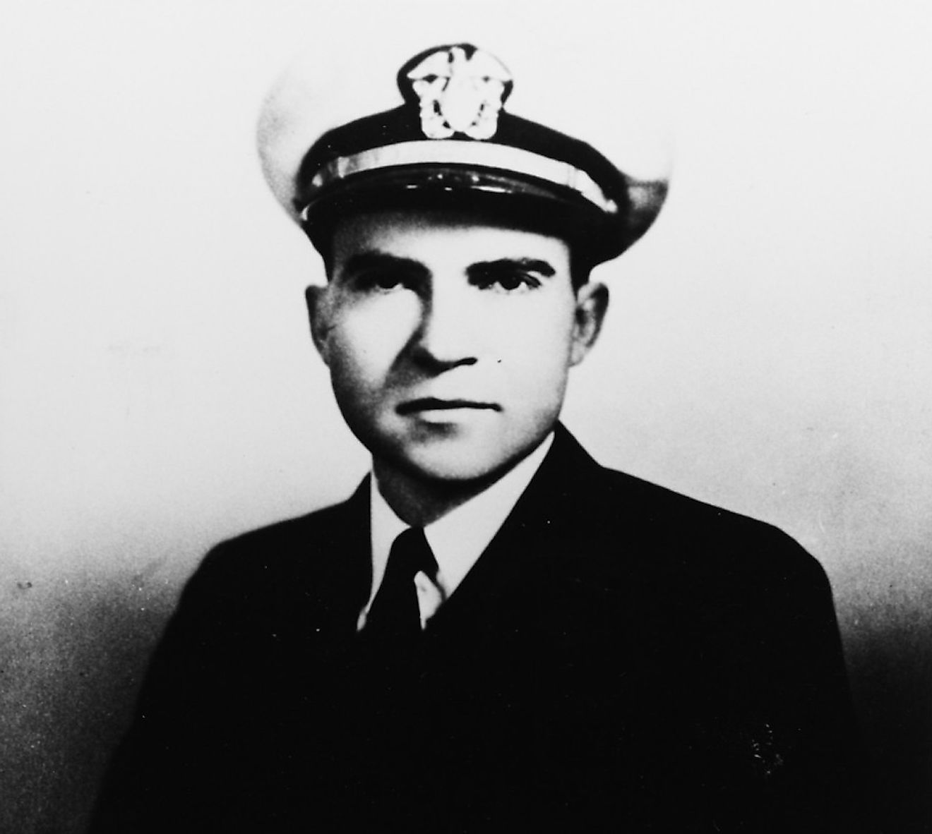Lieutenant Commander Richard Milhous Nixon. Image credit: Naval History and Heritage Command / Public domain