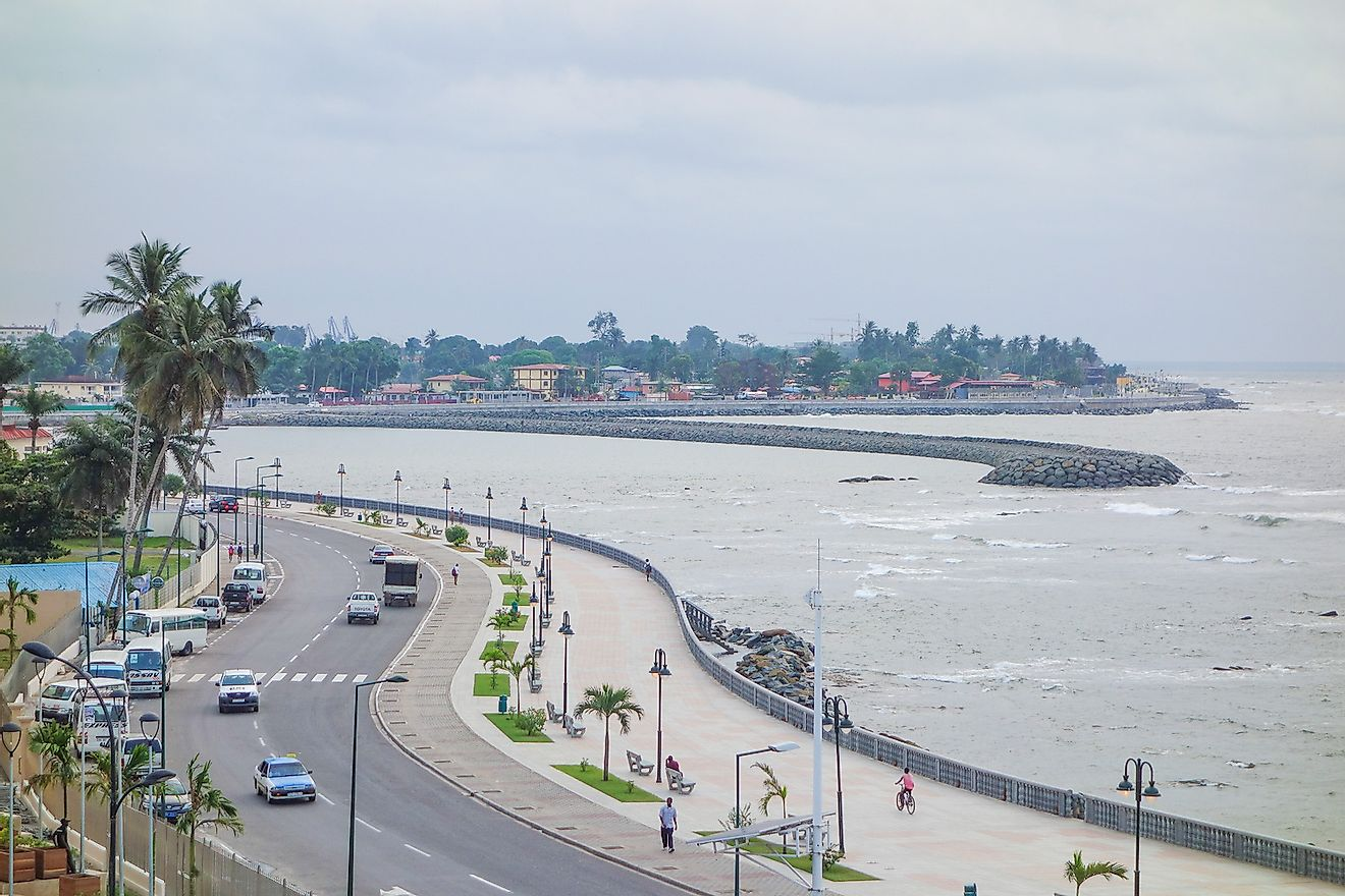 The waterfront in Bata, Equatorial Guinea. Image credit: Alarico/Shutterstock.com