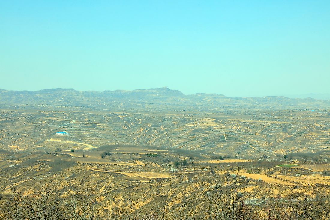 The Loess Plateau.