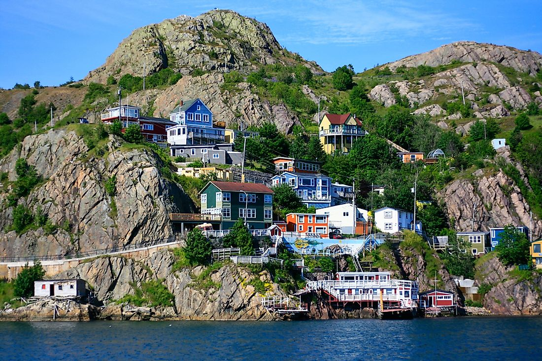 The modern-day Canadian province of Newfoundland was once a British colony.