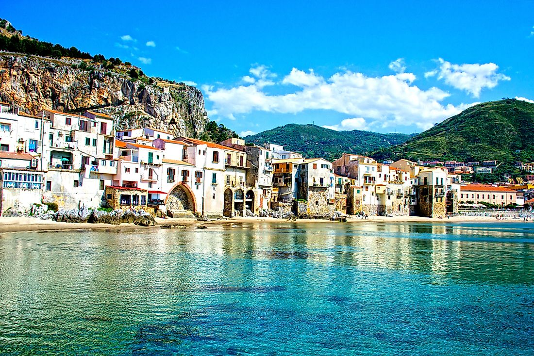 Sicily is the most populated island in the Mediterranean Sea.