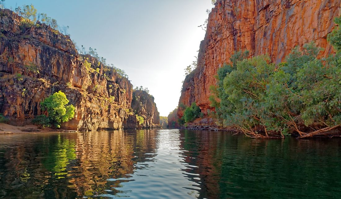 Katherine Gorge in Northern Territory, Australia.