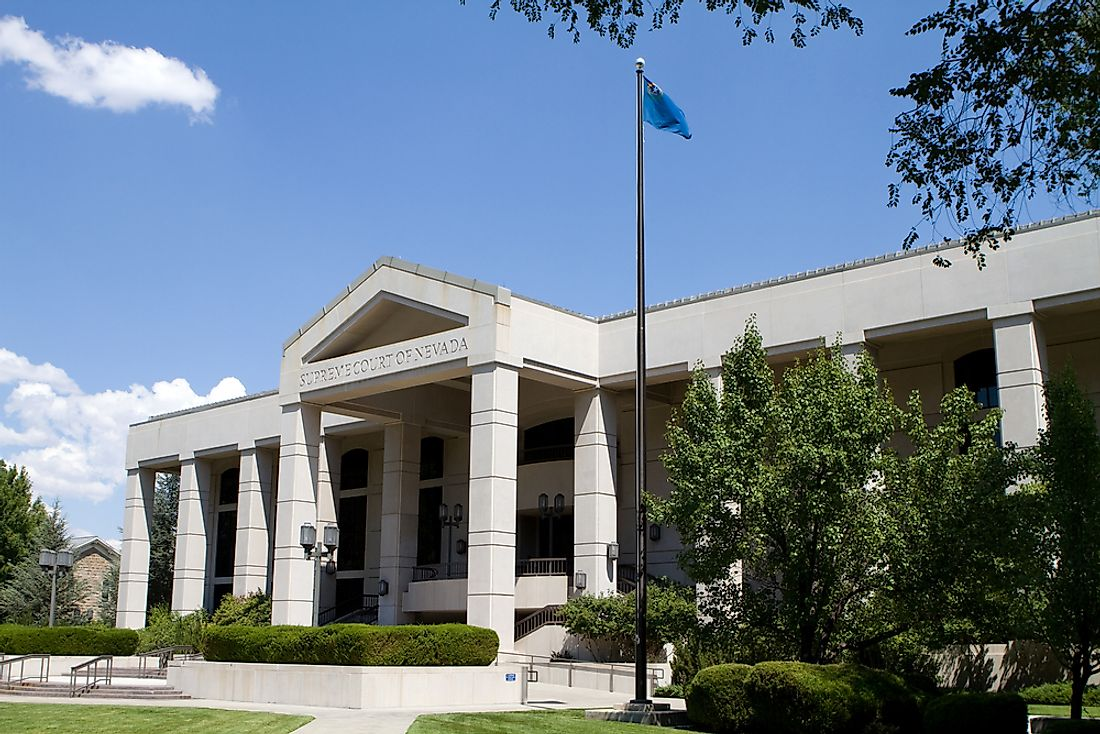 The Supreme Court of Nevada in Carson City.