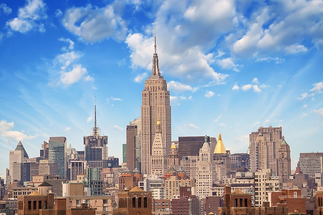 The Empire State Building is one of the most photographed buildings in the world. Editorial credit: pisaphotography / Shutterstock.com