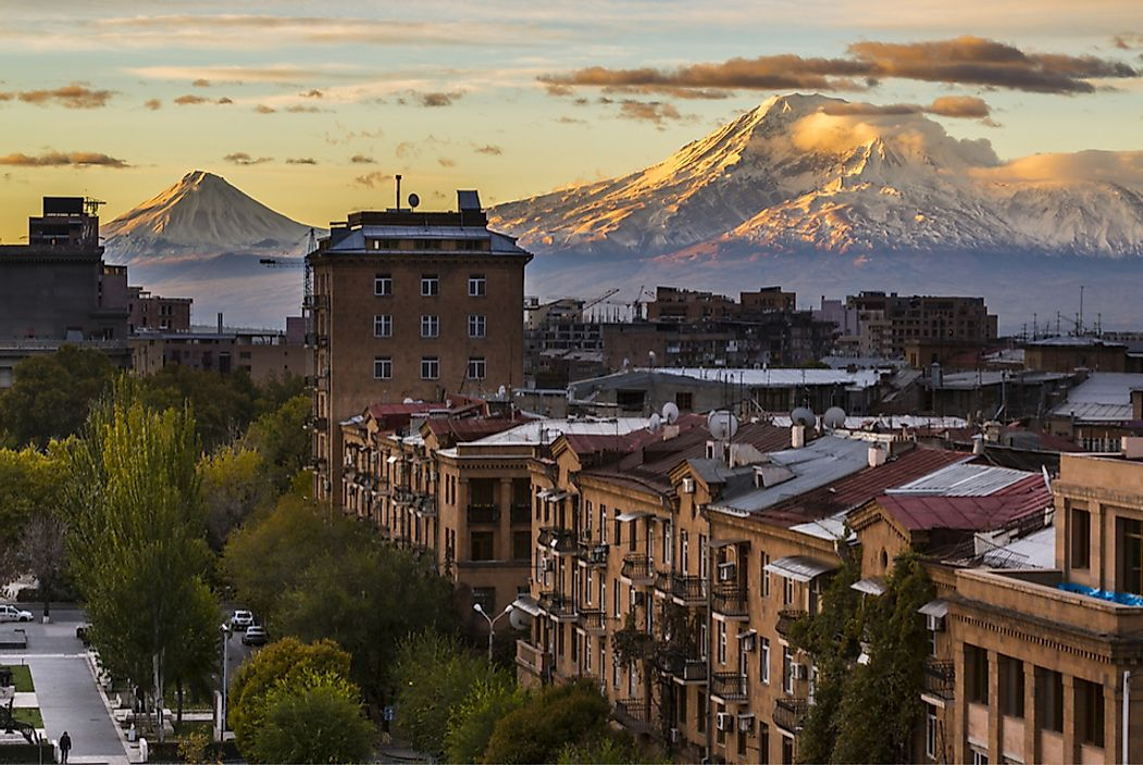 Yerevan, Armenia is one of the world's oldest continuously inhabited cities.