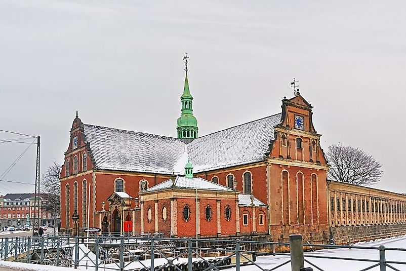 The Lutheran Church of Holmen, a Church of Denmark place of worship in Copenhagen.