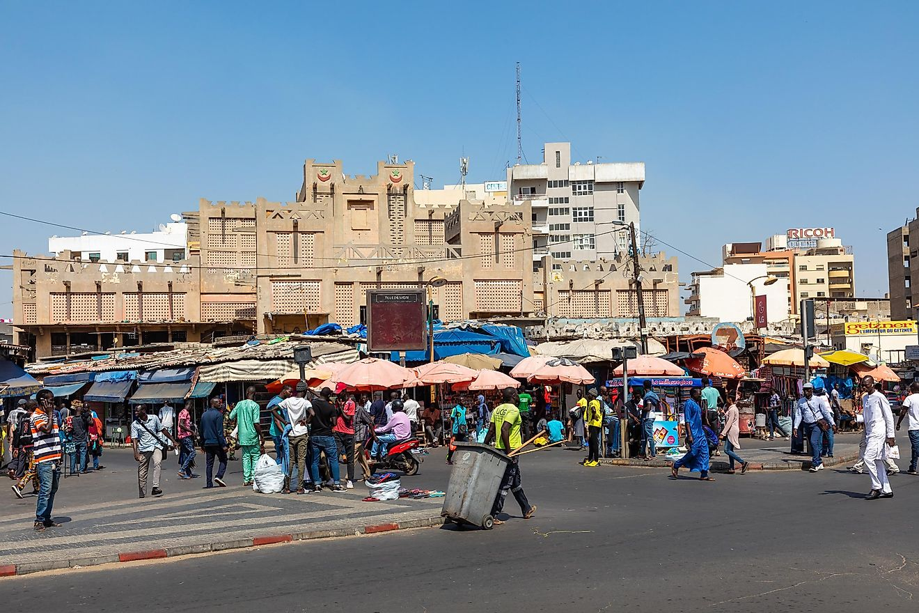 Image  credit: Curioso.Photography / Shutterstock.com. Dakar has a French-speaking population of 2,452,656 people.