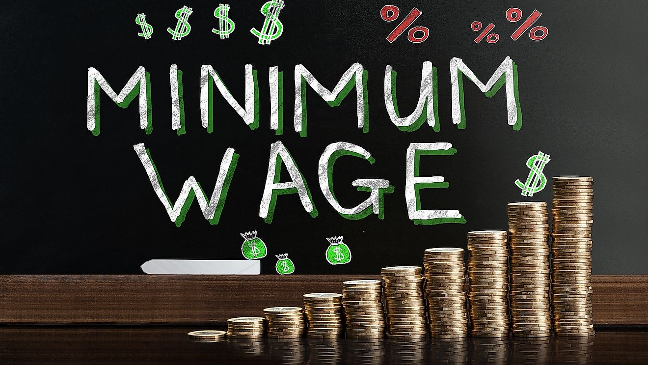 Minimum wage helps maintain a basic level of income for every employee.
