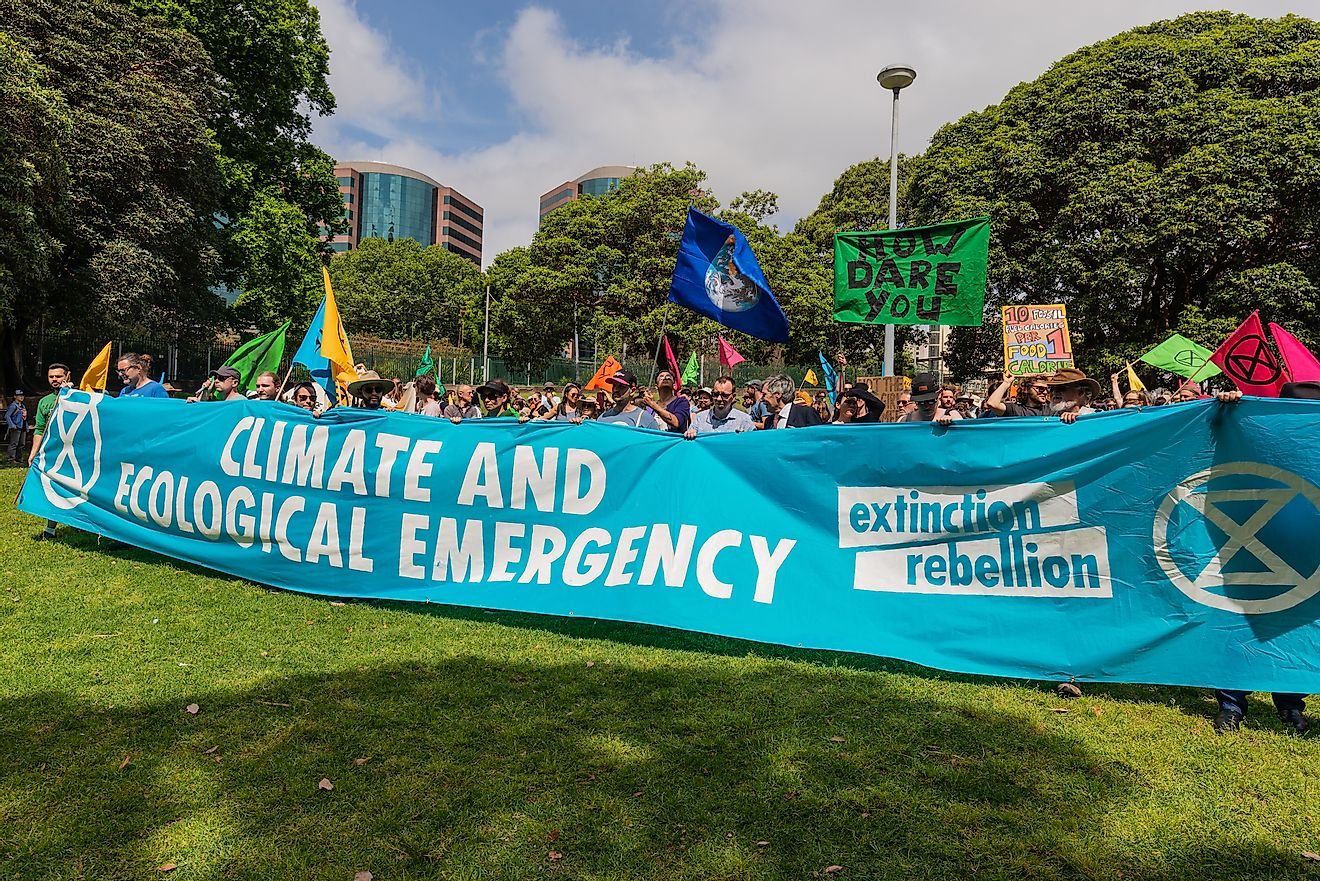 Globally, citizens are protesting against the worsening environmental crisis.