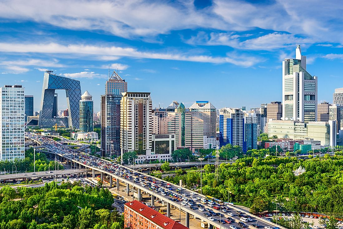 Beijing, China, is the world's most populated capital city.