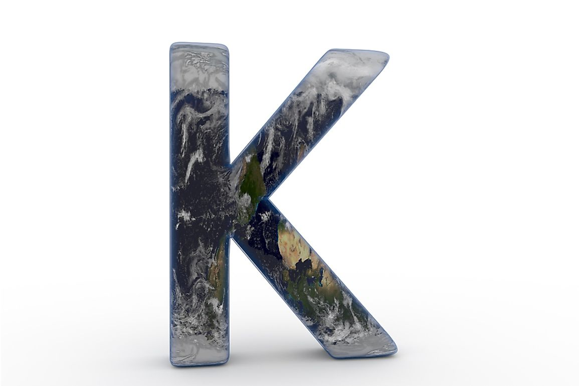 Kazakhstan, Kenya, Kiribati, Kuwait, and Kyrgyzstan are the 5 countries that begin with the letter K.