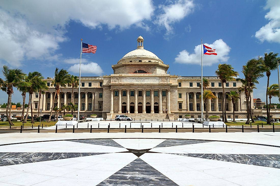 The Puerto Rico Capitol, home of the Legislative Assembly.