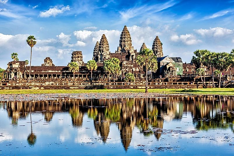 The Angkor Wat Temple Complex in all of its glory.