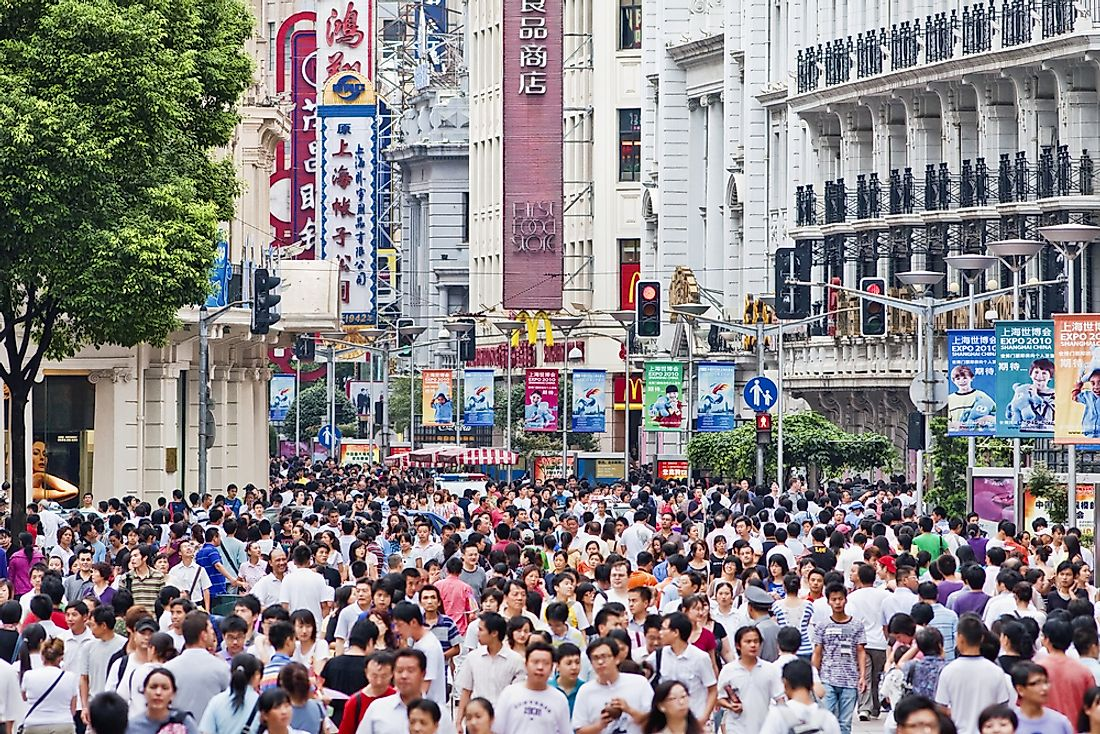 China has over 100 cities with populations over 1 million. Editorial credit: TonyV3112 / Shutterstock.com
