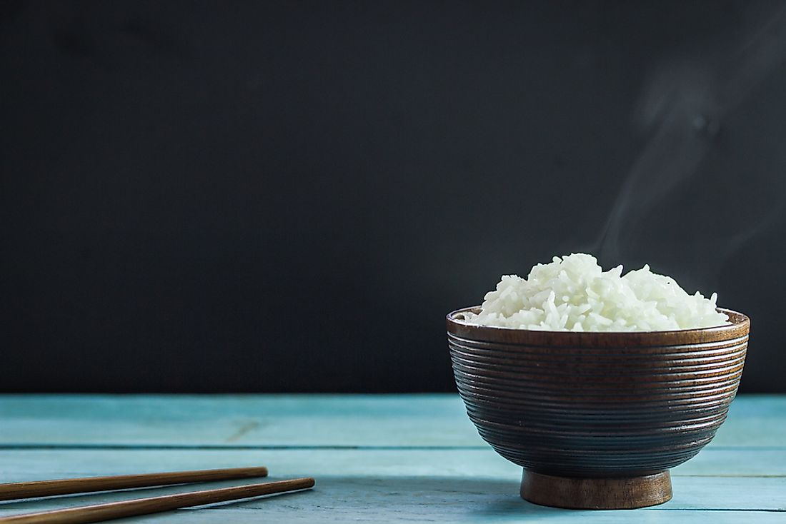 Rice is a staple food all over the world.