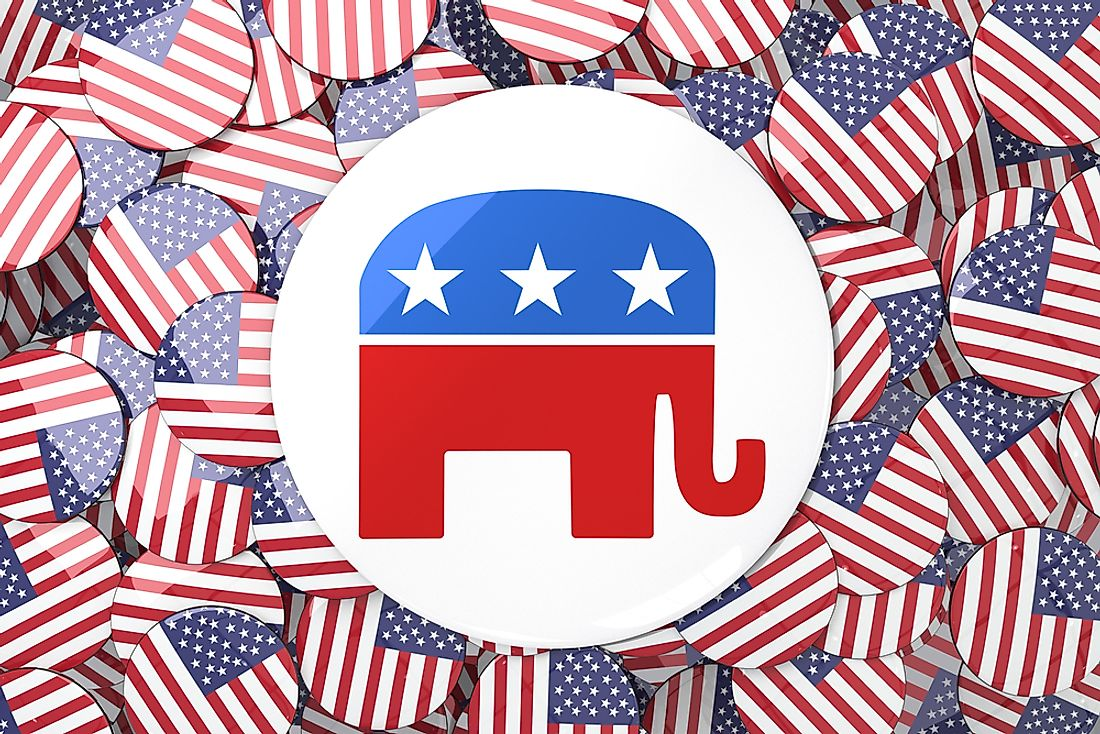 The elephant is a symbol used to represent the Republican party.