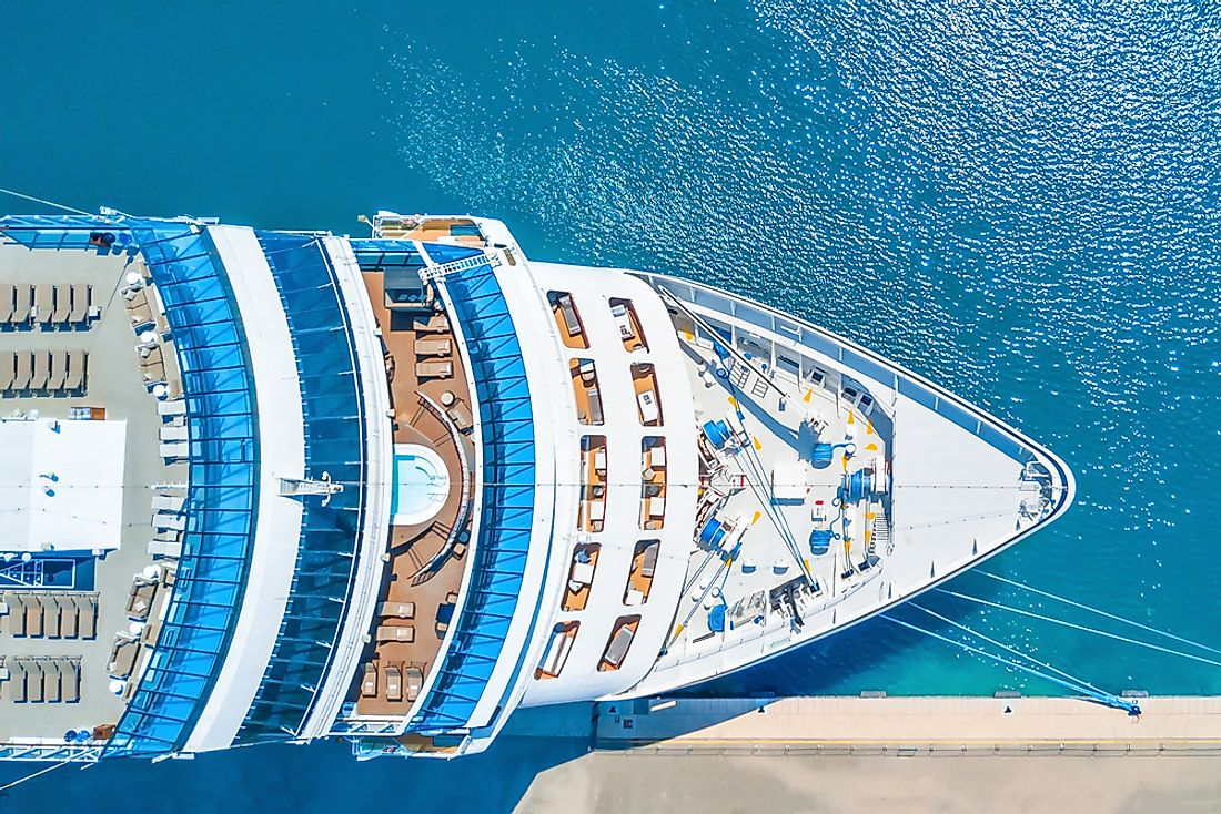 Americans spend more time on cruise ships than any other country.