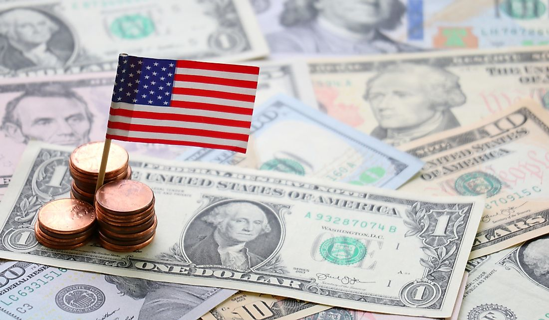 The US dollar is one of the world's most widely used currencies.
