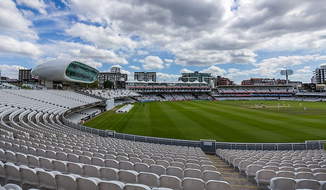 Lord's Cricket Ground in London. Editorial credit: e X p o s e / Shutterstock.com