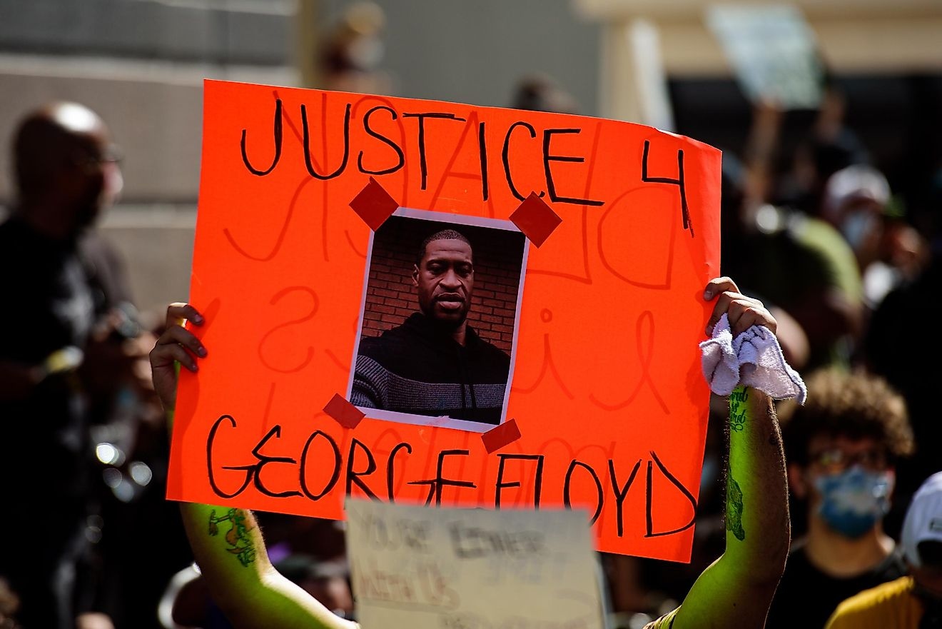 It is not uncommon that these cases end up in the death of the person being assaulted by the police, like the case of George Floyd, a black man that was killed by four police officers in May of 2020. Image credit: Tverdokhlib / Shutterstock.com