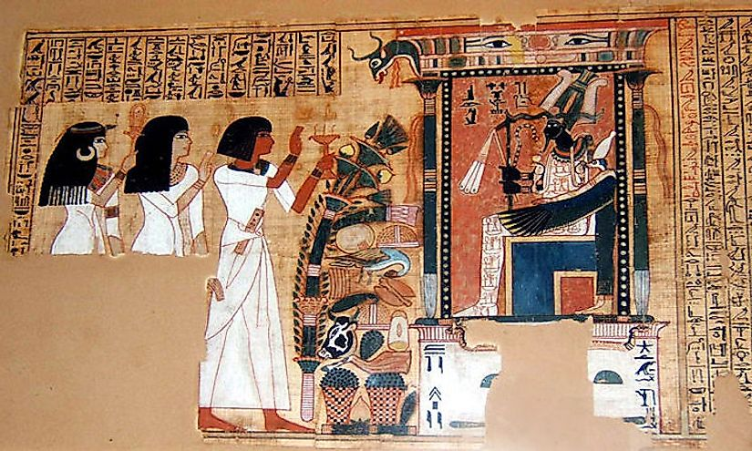The language of ancient Egypt was among the first written languages in the world.