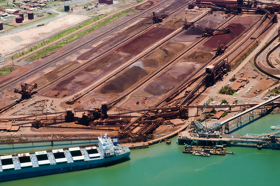 Port Hedland is the biggest port in Australia and the whole of Oceania region.